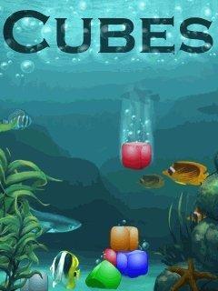 بازی موبایل cubes به صورت جاوا برای موبایل